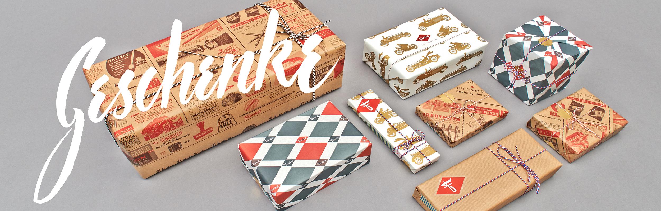Geschenkpapier & Karten
