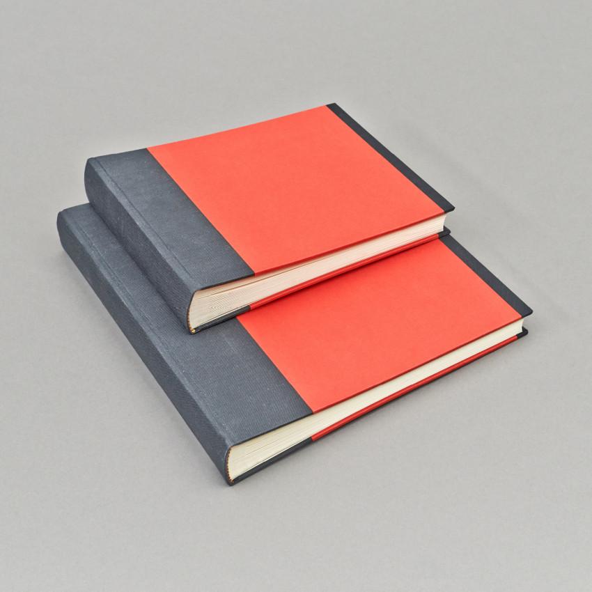 Fotobuch Schwarz & Rot