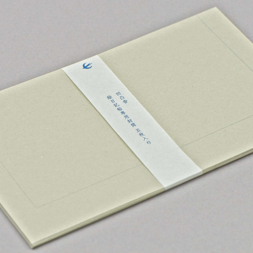 Rezyklierte Letterpress Couverts