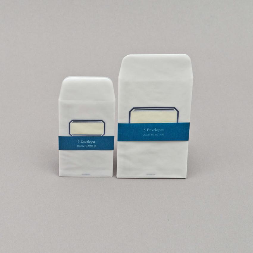 Durchsichtige Säckchen mit Adressfeld