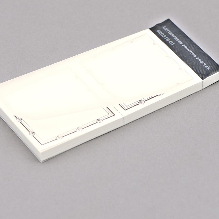 Etikettenblock gross – abreissbar (56×56mm)
