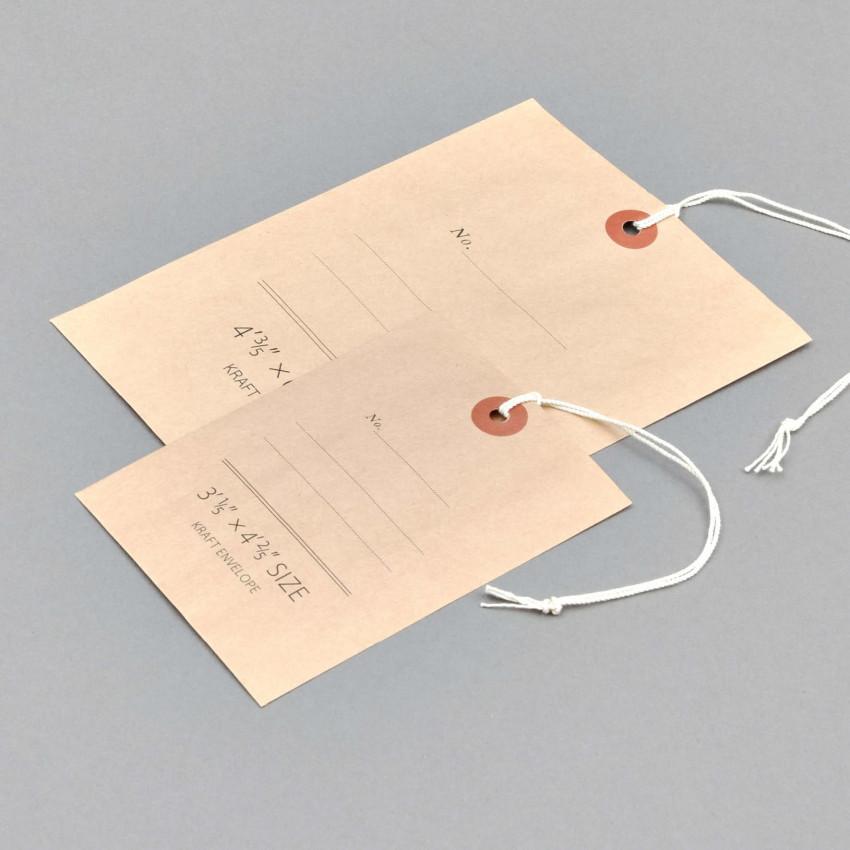 Kraftpapier-Säckchen als Anhänger (Braun)