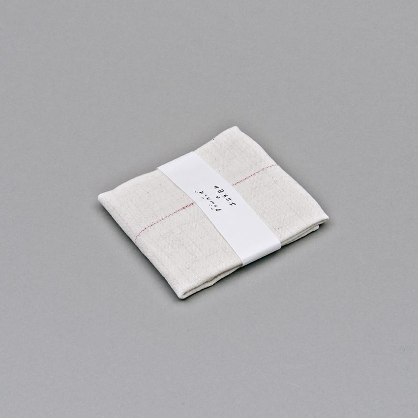 japanisches k chentuch mit 1 roter linie schreibtisch. Black Bedroom Furniture Sets. Home Design Ideas