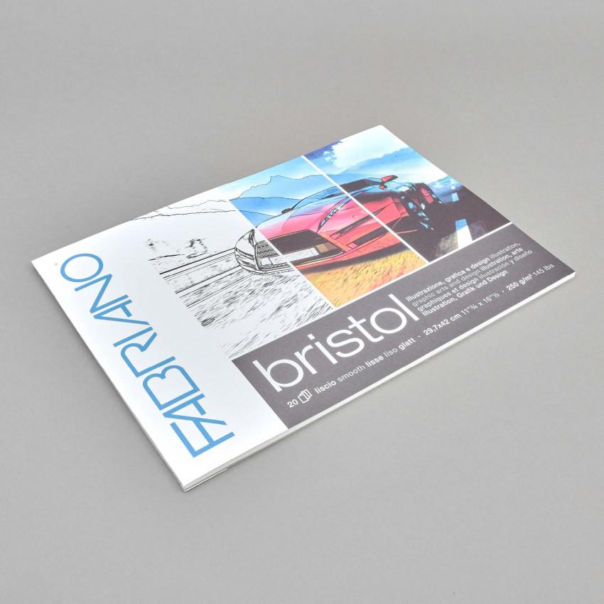 Design-Papierblock Bristol