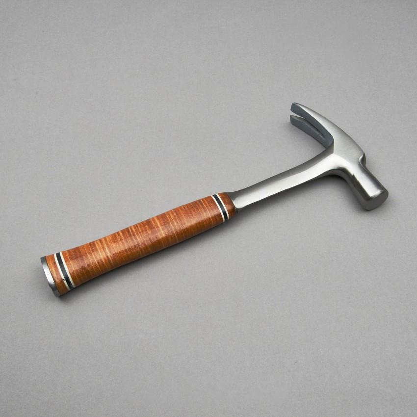 24 Oz Stahlhammer mit Ledergriff