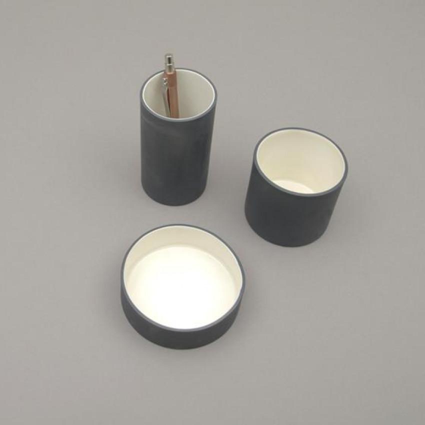 Tischablagen aus Keramik von JL (anthrazit)
