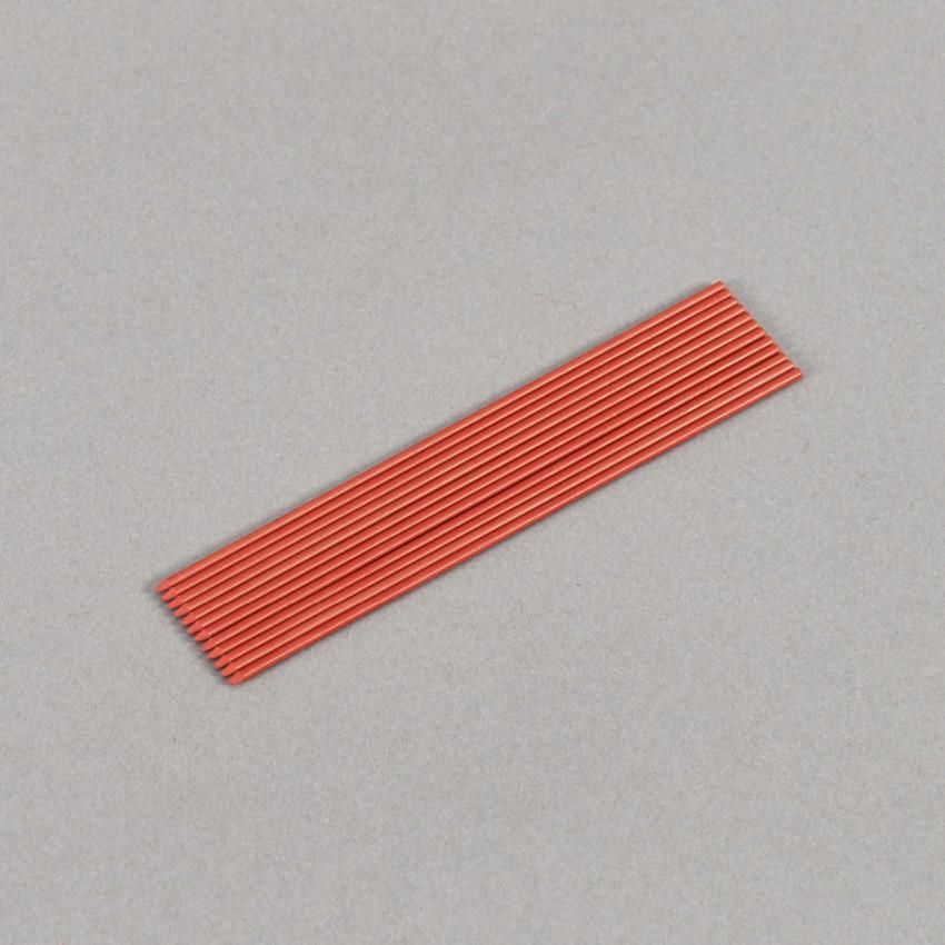2.0 mm rote Buntminen, in 12 cm Länge