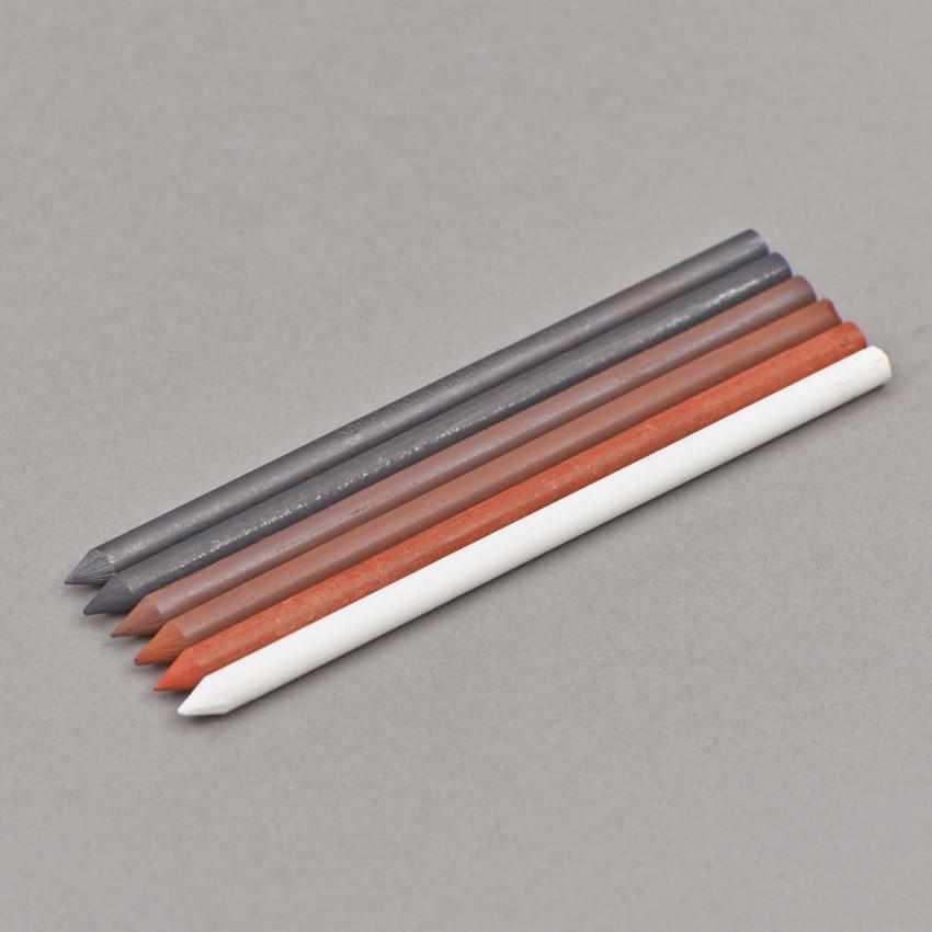 5.6 Sepia-Künstlerminen, 12 cm (lang)