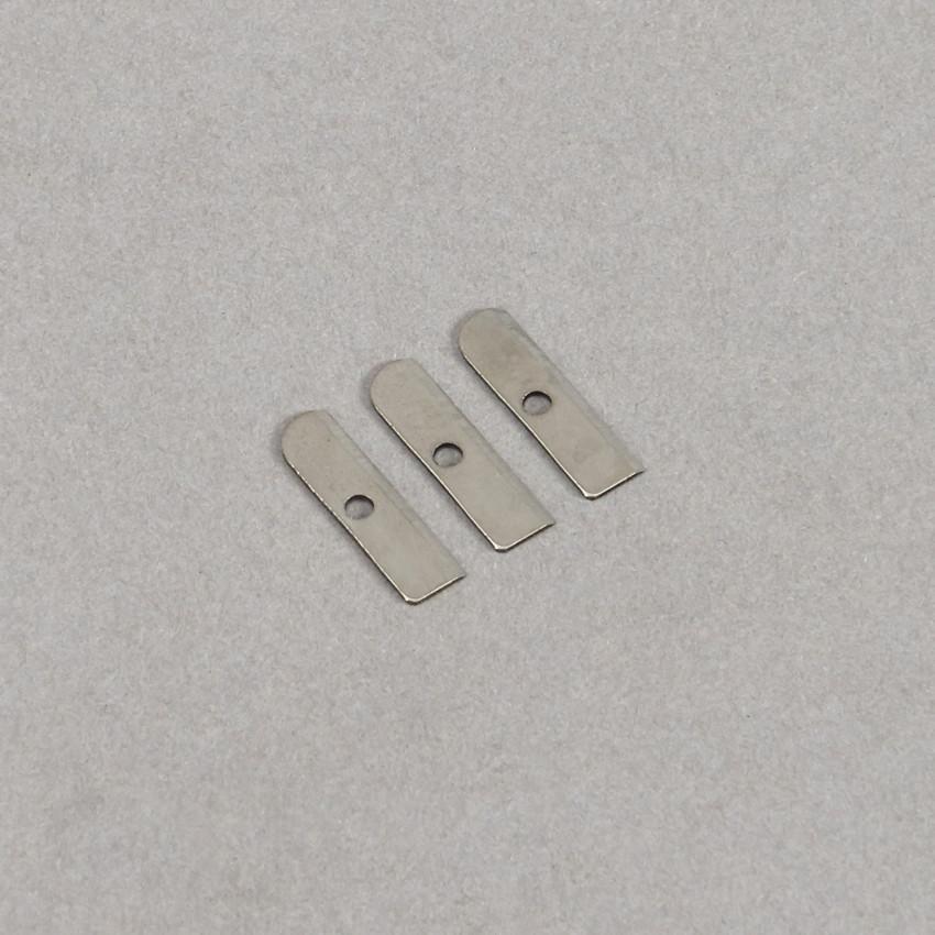 3 Stück M&R Ersatzklingen