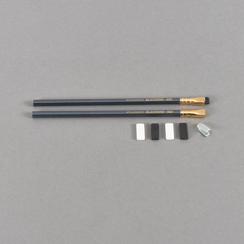 Blackwing Radierer – 10 Stück Nachfüllpack