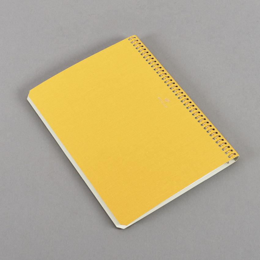 Notizbuch Schulbusgelb – Millimeterpapier