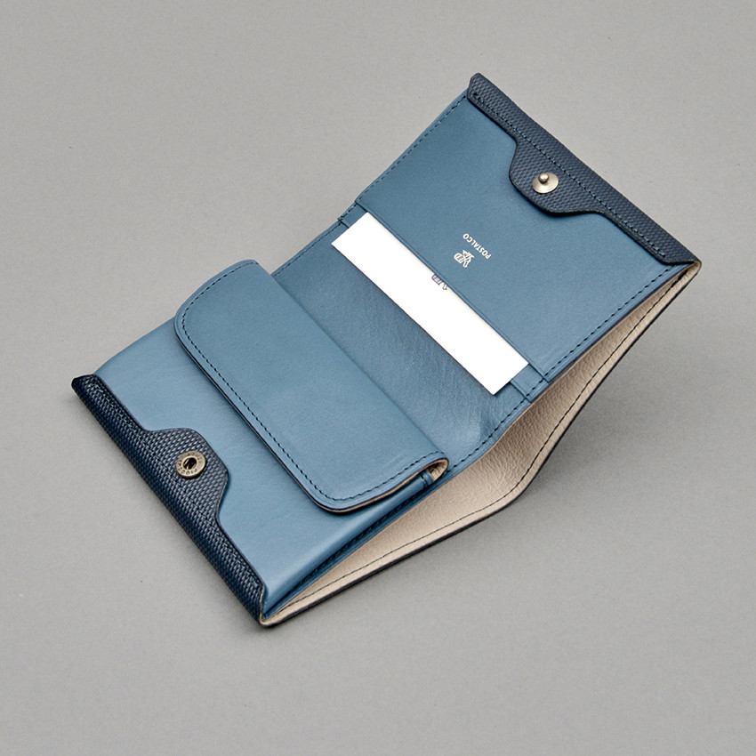 Japanisches Portemonnaie aus Leder