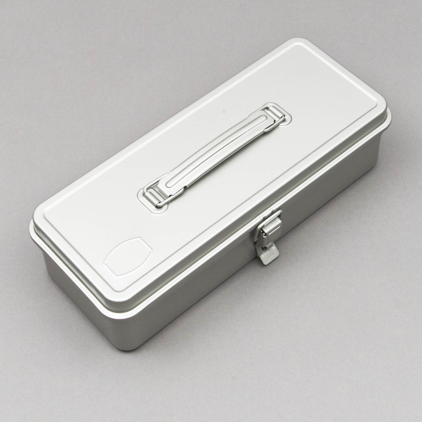 Trunk–Style Werkzeugkiste (silber)