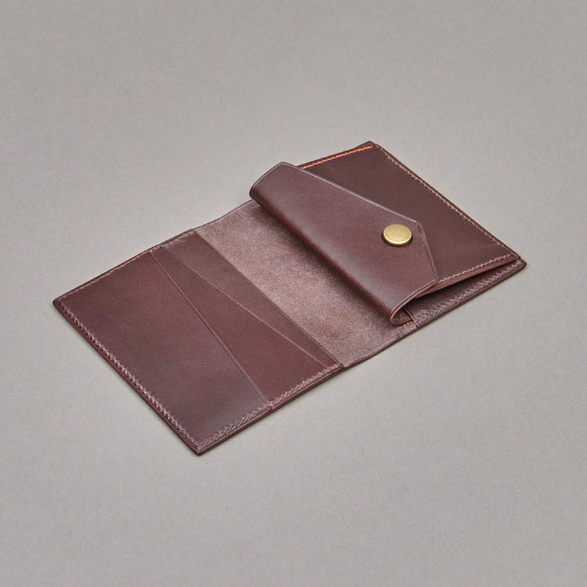 Fabrikat Portemonnaie (dunkelbraun)