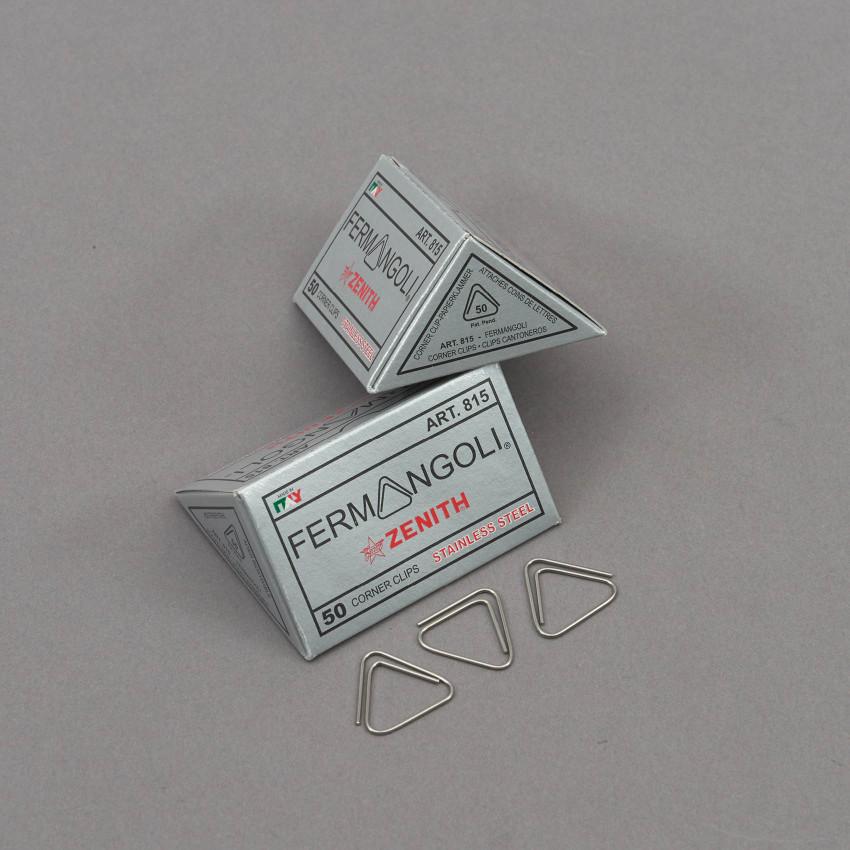 50 Stück Dreieck-Büroklammern aus Italien