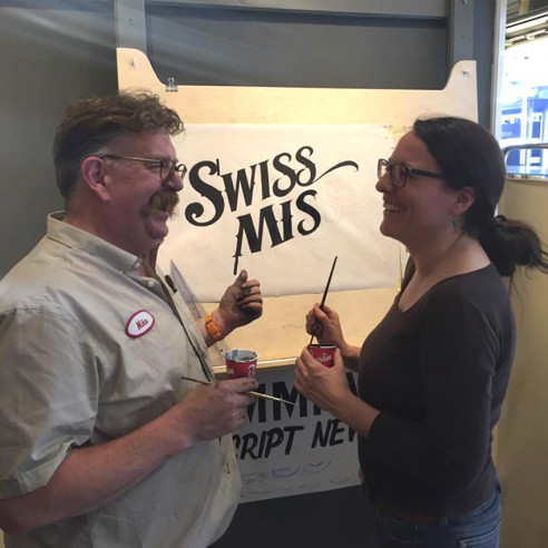 Sign Painting / Brush Lettering mit Mike Meyer