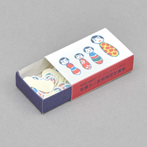 Mini-Puppen-Sticker Box