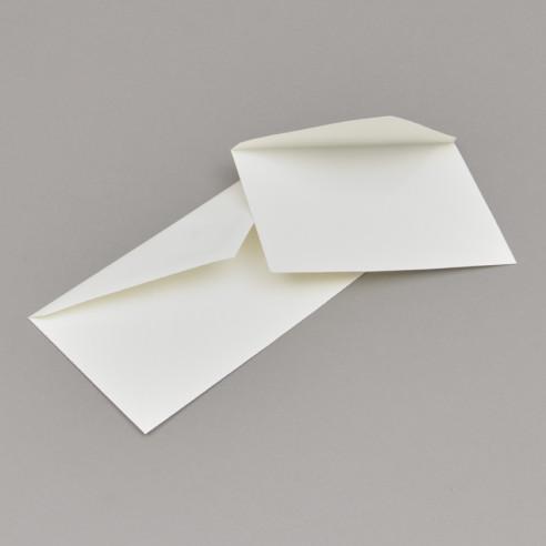 Couverts aus Velinpapier