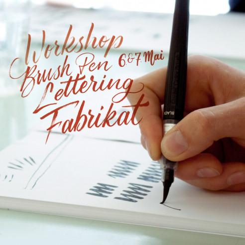 Brush Pen Handlettering Workshop, 6. & 7. Mai