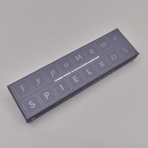 Typomemo Spielbox