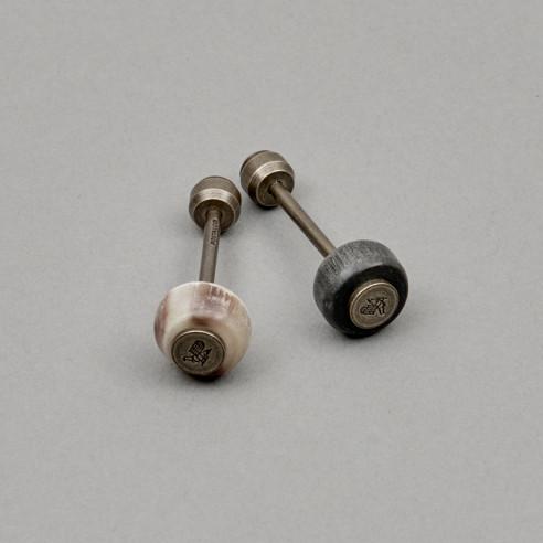 Totem – Schlüsselanhänger mit Horn-Perle